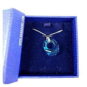 Swarovski Crystal Necklace, Brand New